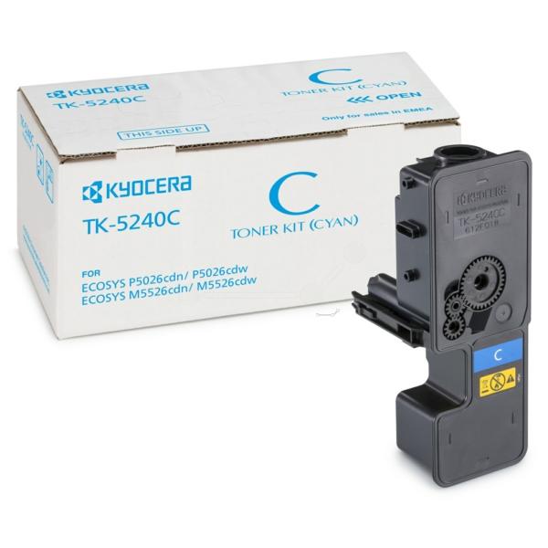 Original Kyocera 1T02R7CNL0 / TK5240C Toner cyan