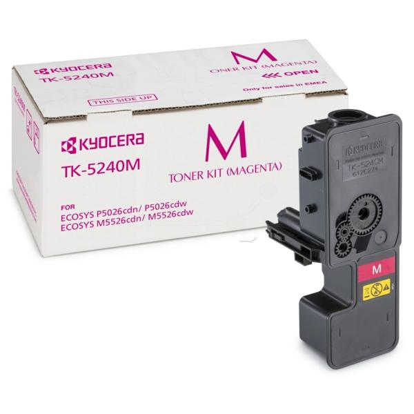 Original Kyocera 1T02R7BNL0 / TK5240M Toner magenta