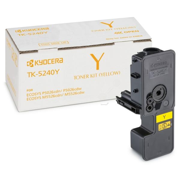 Original Kyocera 1T02R7ANL0 / TK5240Y Toner jaune