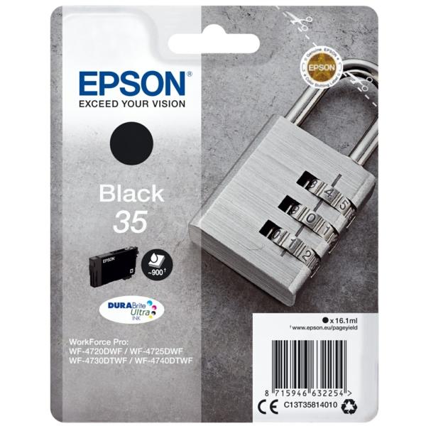 Original Epson C13T35814010 / 35 Tintenpatrone schwarz
