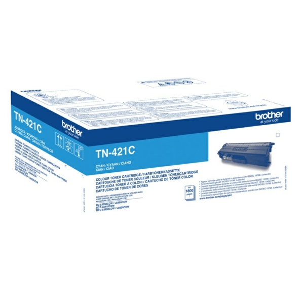 Original Brother TN421C Toner cyan