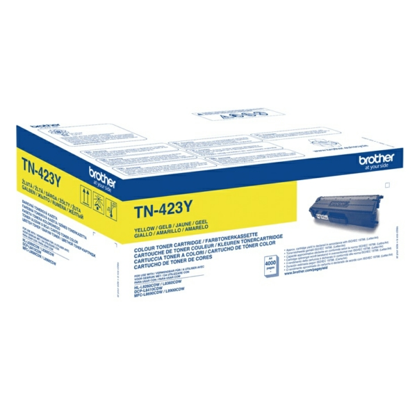 Original Brother TN423Y Toner gelb