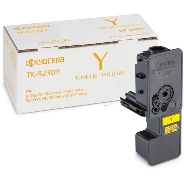 Original Kyocera 1T02R9ANL0 / TK5230Y Toner gelb