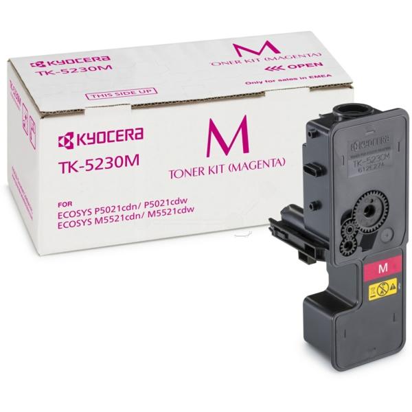 Original Kyocera 1T02R9BNL0 / TK5230M Toner magenta