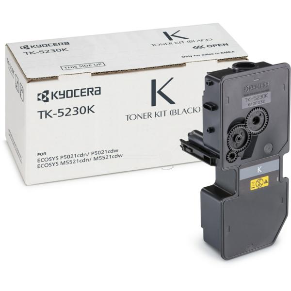 Original Kyocera 1T02R90NL0 / TK5230K Toner schwarz