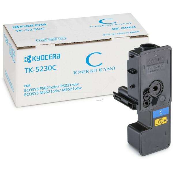 Original Kyocera 1T02R9CNL0 / TK5230C Toner cyan