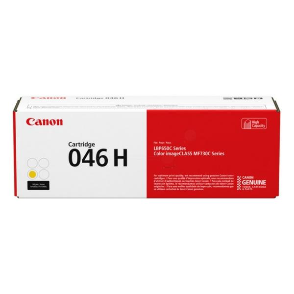 Original Canon 1251C002 / 046H Toner gelb