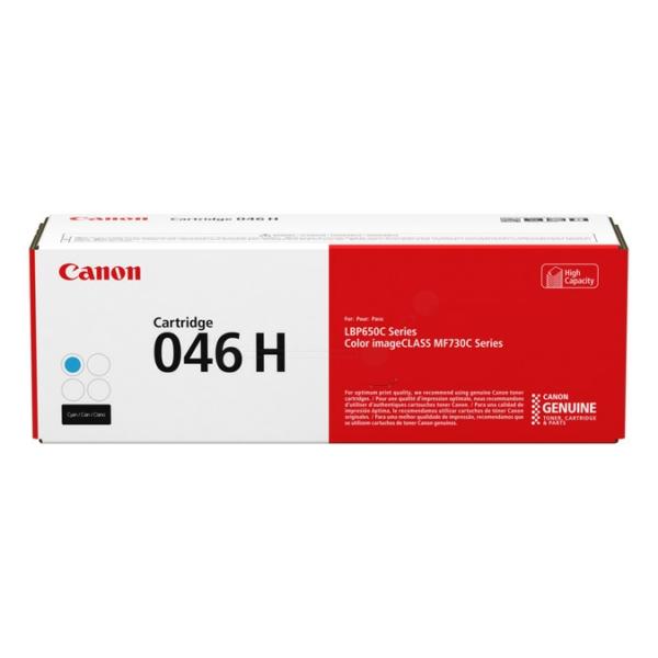 Original Canon 1253C002 / 046H Toner cyan