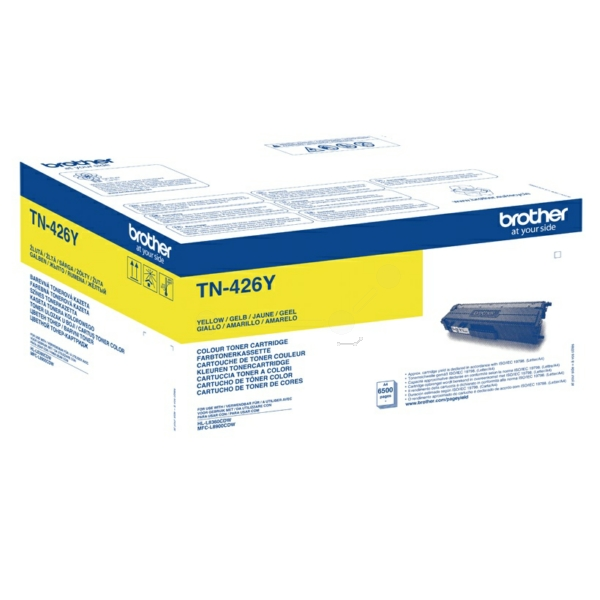 Original Brother TN426Y Toner gelb