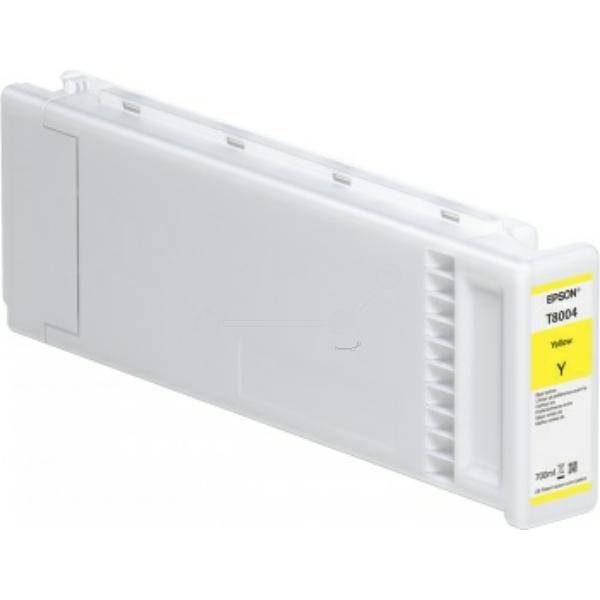 Original Epson C13T800400 / T8004 Tintenpatrone gelb