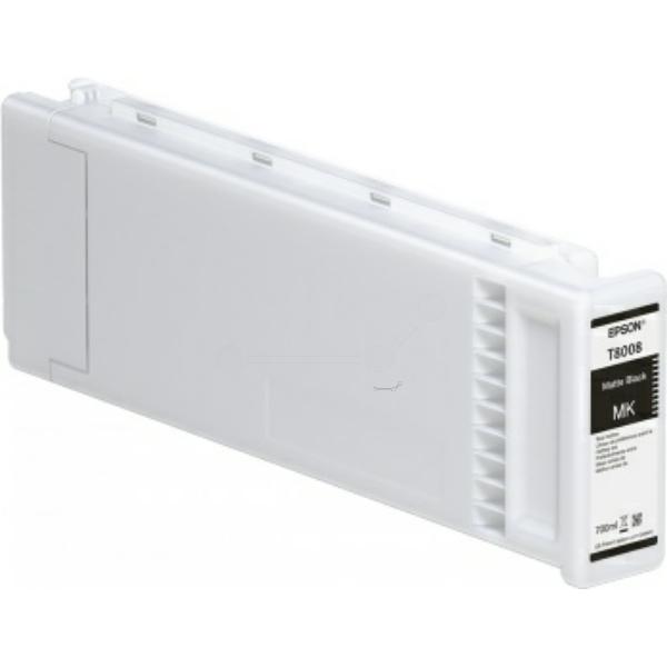 Original Epson C13T800800 / T8008 Tintenpatrone schwarz matt