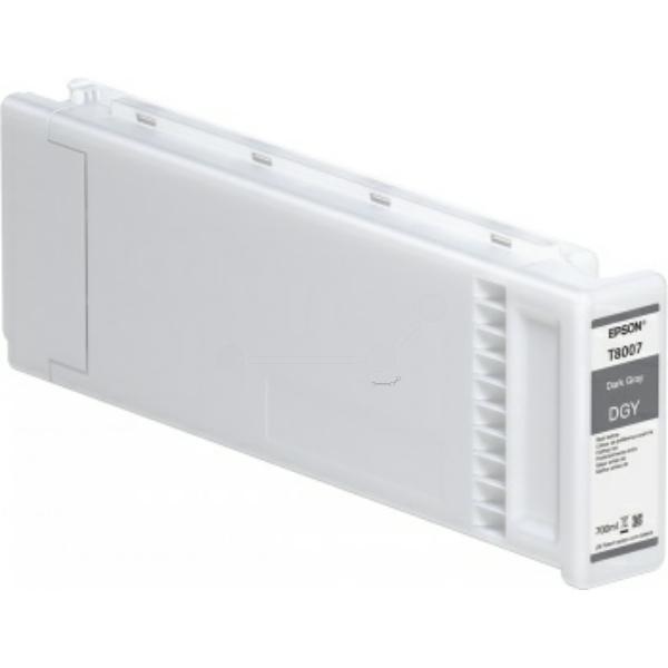 Original Epson C13T800700 / T8007 Tintenpatrone grau