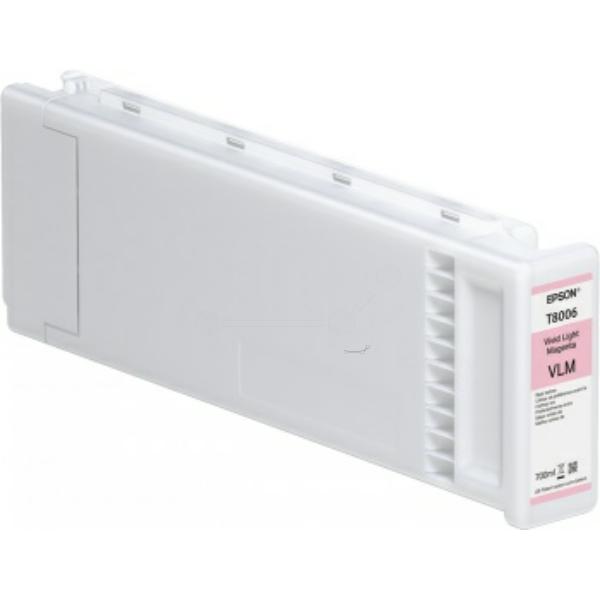 Original Epson C13T800600 / T8006 Tintenpatrone magenta