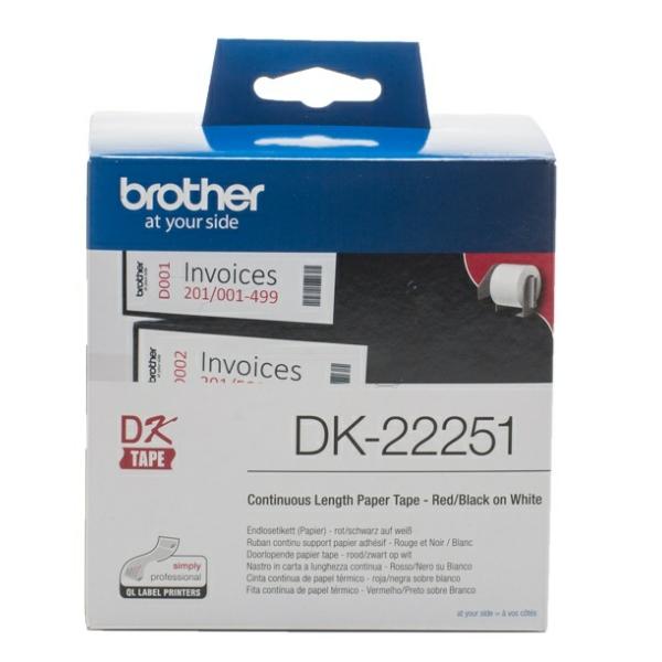 Original Brother DK22251 P-Touch Étiquettes