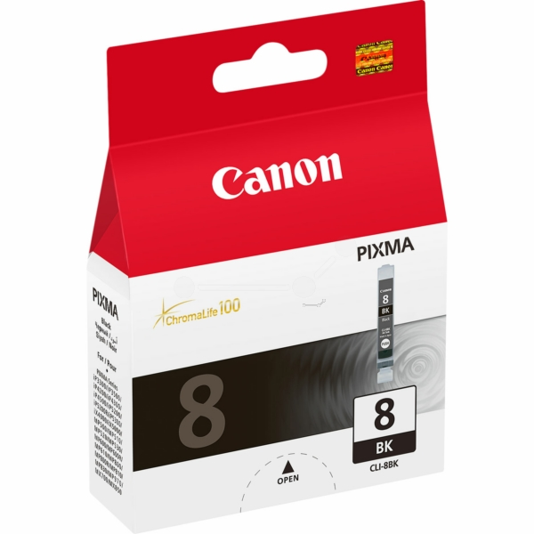 Original Canon 0620B028 / CLI8BK Ink cartridge black