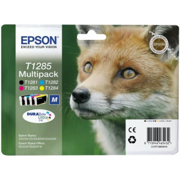 Original Epson C13T12854012 / T1285 Tintenpatrone MultiPack