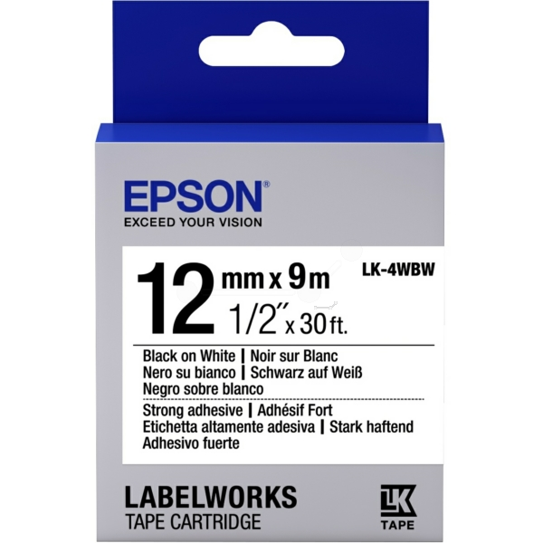 Original Epson C53S654016 / LK4WBW Farbband