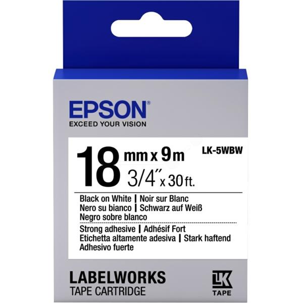 Original Epson C53S655012 / LK5WBW Farbband