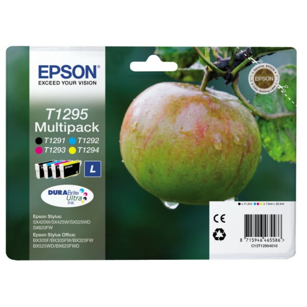 Original Epson C13T12954022 / T1295 Ink cartridge multi pack