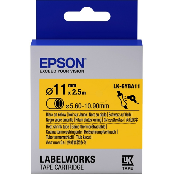 Original Epson C53S656904 / LK6YBA11 Prägeband