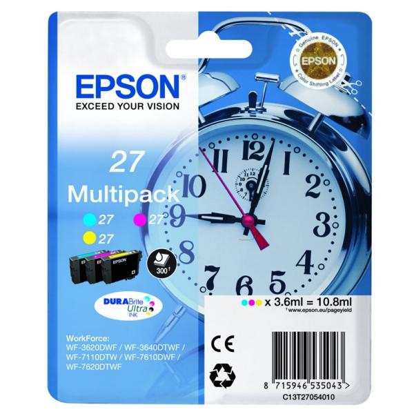 Original Epson C13T27054022 / 27 Tintenpatrone MultiPack