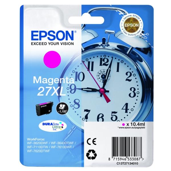 Original Epson C13T27134022 / 27XL Tintenpatrone magenta