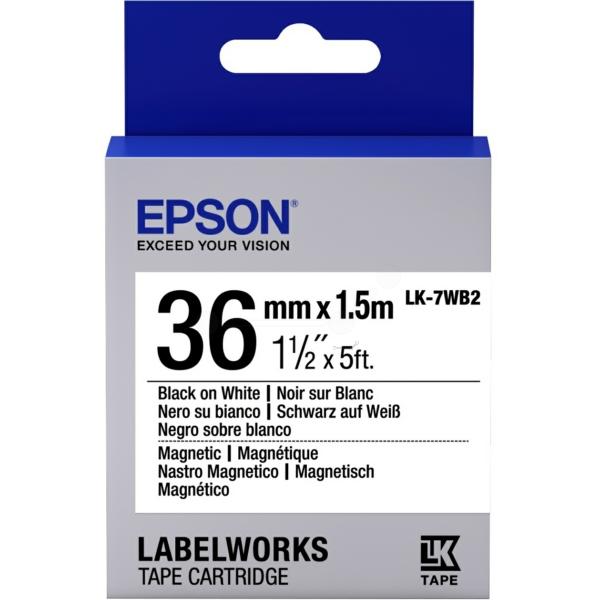 Original Epson C53S657002 / LK7WB2 Farbband
