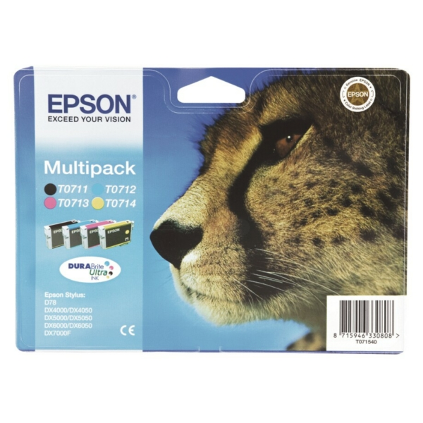 Originale Epson C13T07154511 / T0715 Cartuccia di inchiostro multi pack