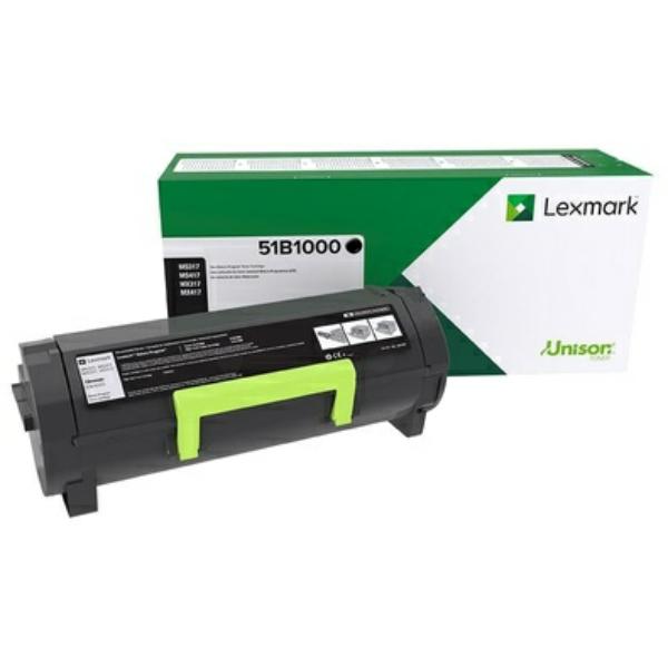 Original Lexmark 51B2000 Toner schwarz
