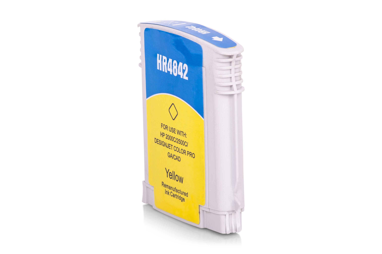Kompatibel zu HP C4842AE / Nr. 10 Tintenpatrone gelb