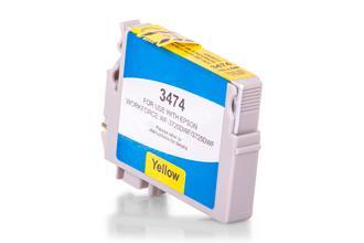 Kompatibel zu Epson C13T34744010 / 34XL Tintenpatrone Gelb