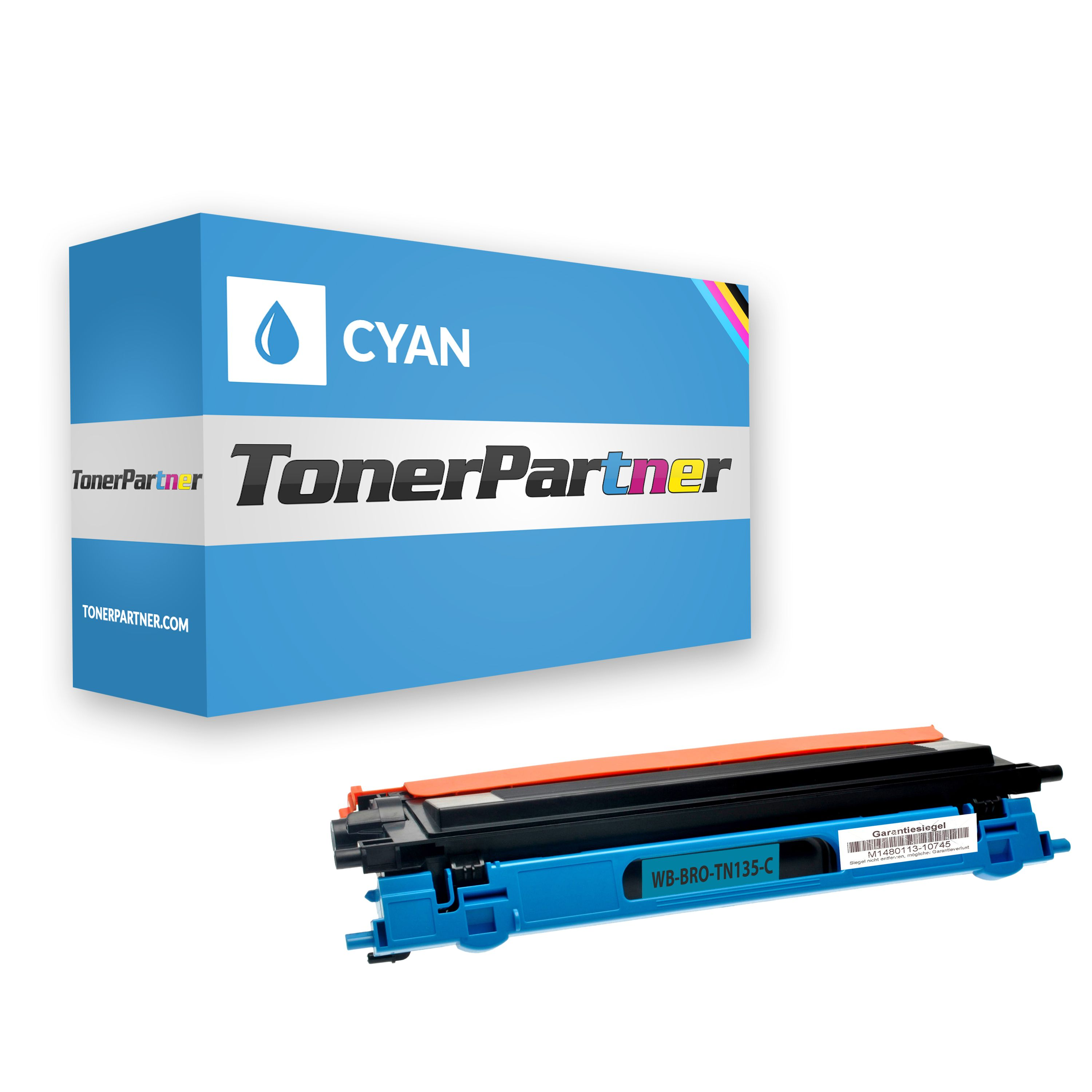 Kompatibel zu Brother TN-135C Toner cyan