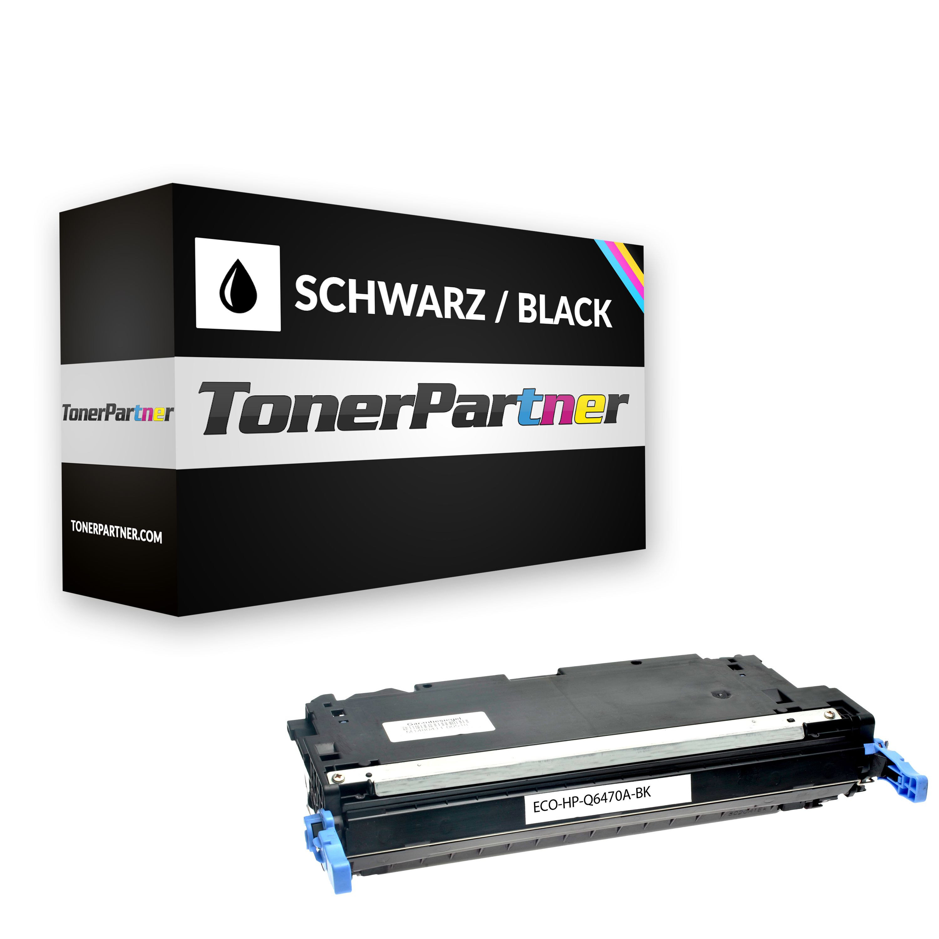 Compatible to HP Q6470A / 501A Toner black