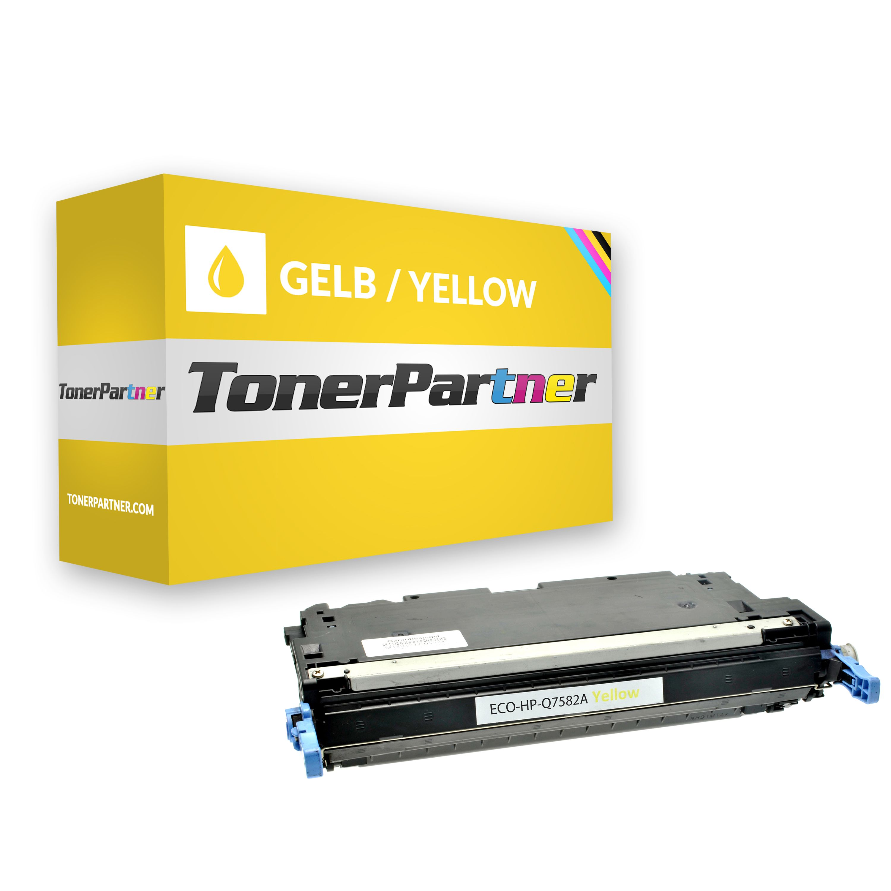Compatible to HP Q7582A / 503A Toner yellow