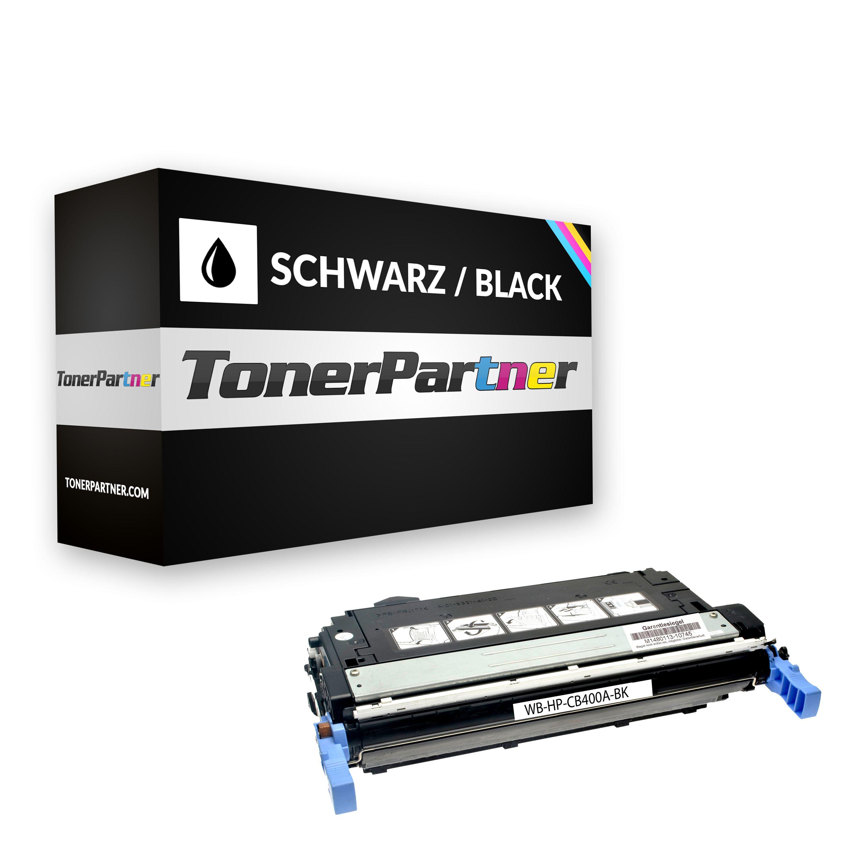 Kompatibel zu HP CB400A Toner schwarz