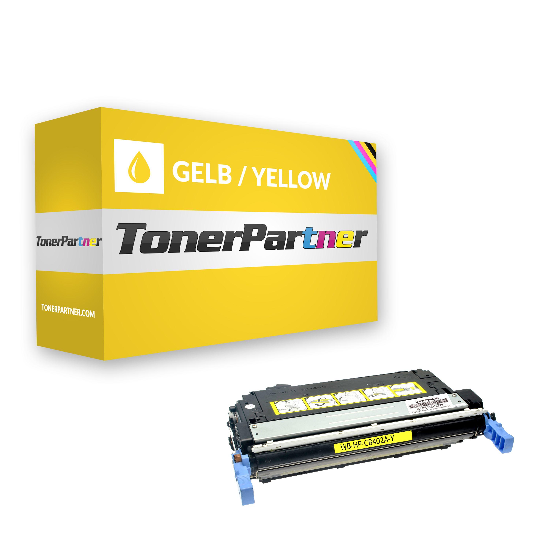 Kompatibel zu HP CB402A Toner gelb