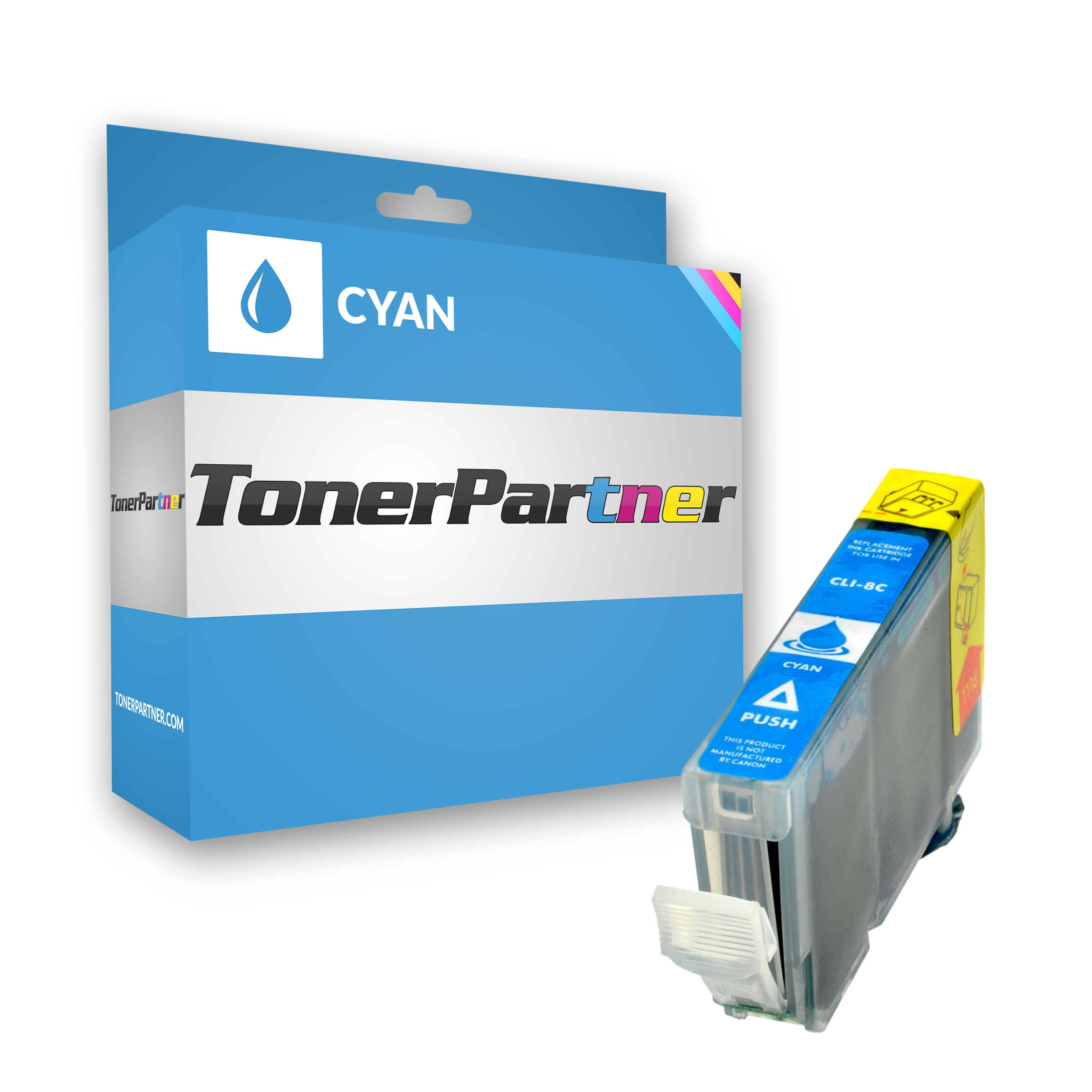 Compatible to Canon 0621B001 / CLI8C Ink cartridge cyan