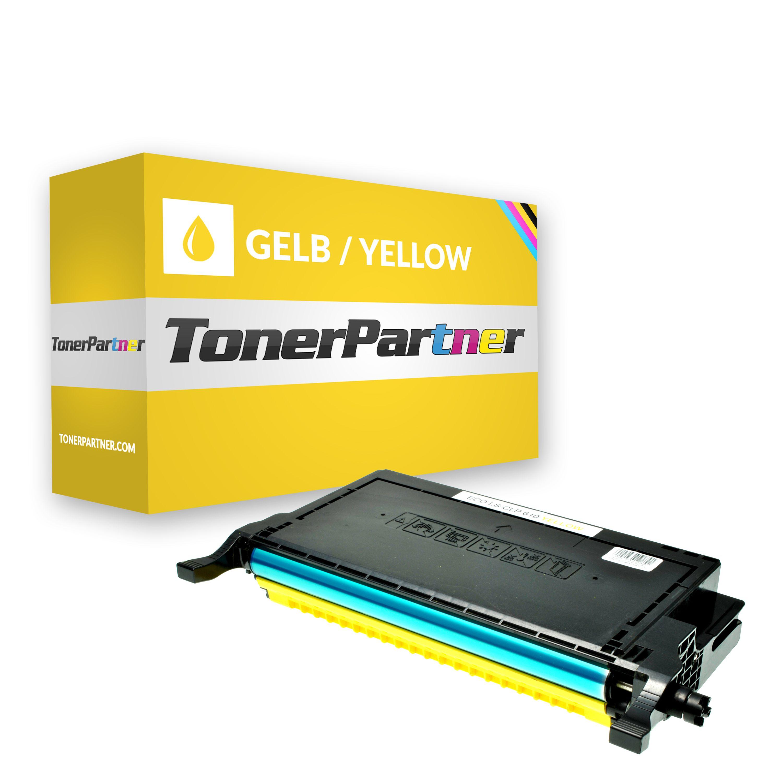 Kompatibel zu Samsung CLP-Y660B Toner gelb