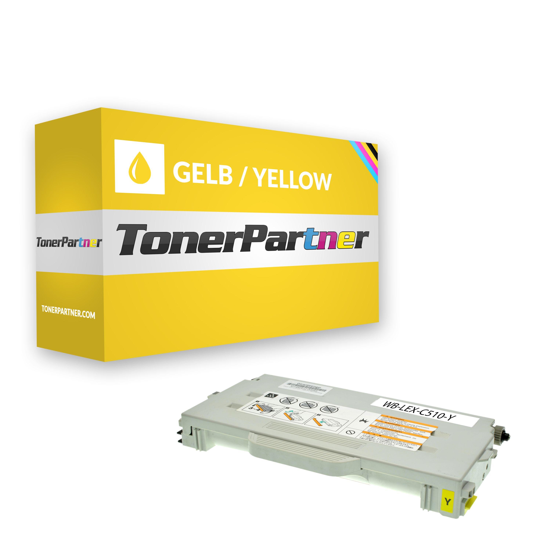 Kompatibel zu Lexmark 020K1402 / C510 Toner gelb
