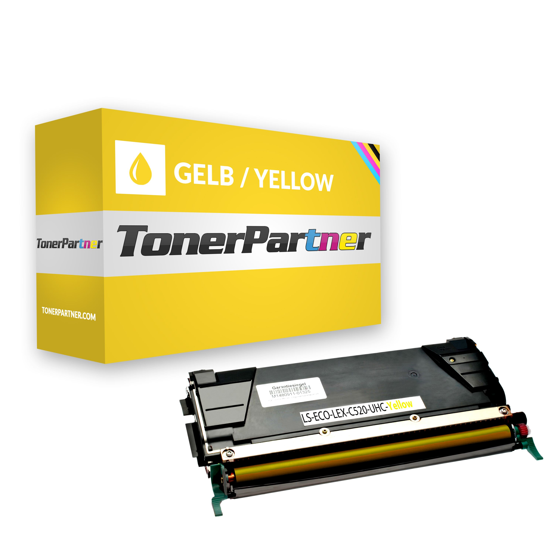 Kompatibel zu Lexmark C522 C530 Toner XXL gelb
