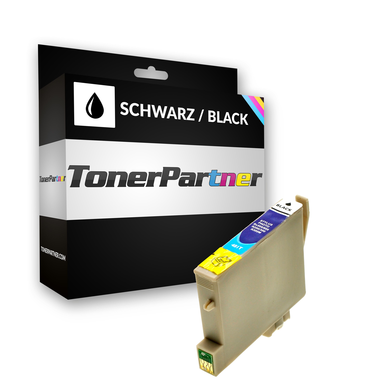 Kompatibel zu Epson C13T04814010 / T0481 Tintenpatrone schwarz