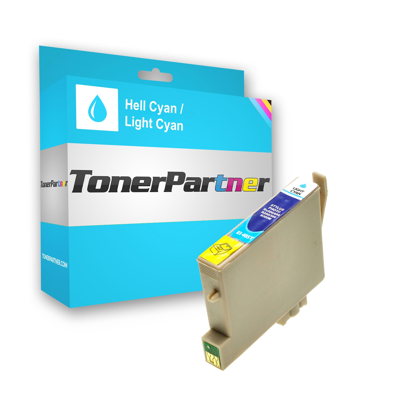Kompatibel zu Epson C13T04854010 / T0485 Tintenpatrone Light cyan