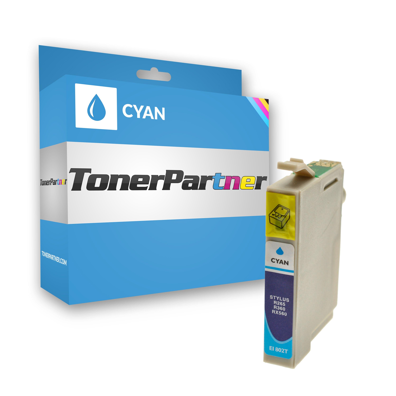 Kompatibel zu Epson C13T08024010 / T0802 Tintenpatrone cyan