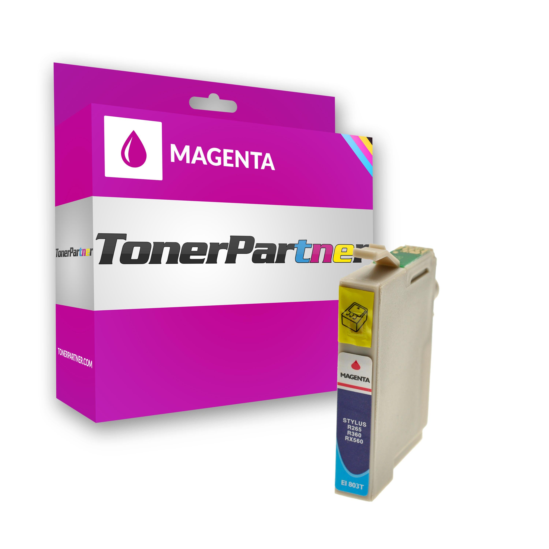Kompatibel zu Epson C13T08034010 / T0803 Tintenpatrone magenta