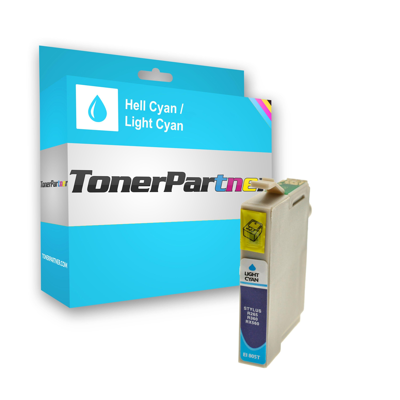 Kompatibel zu Epson C13T08054010 / T0805 Tintenpatrone Light cyan