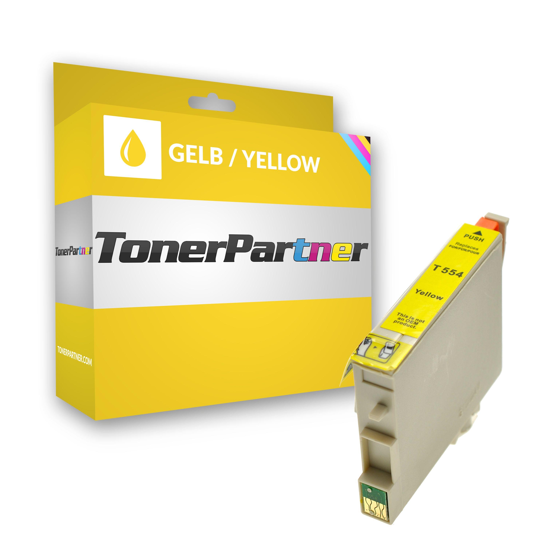 Kompatibel zu Epson C13T05544010 / T0554 Tintenpatrone gelb