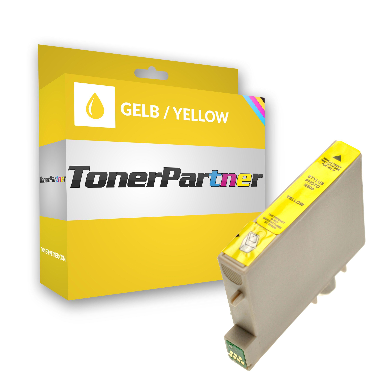 Kompatibel zu Epson C13T05444010 / T0544 Tintenpatrone gelb