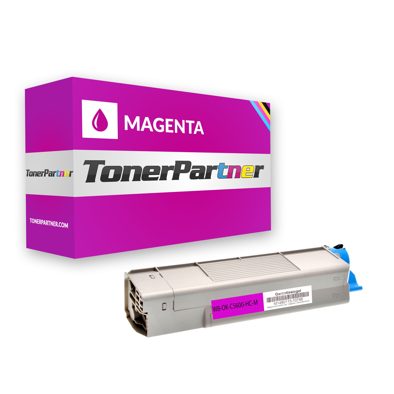 Kompatibel zu OKI 43381906 für OKI C5600 / C5700 Toner magenta