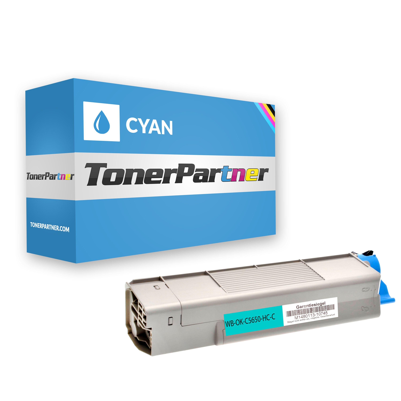 Kompatibel zu OKI 43872307 für OKI C5650 / C5750 Toner cyan