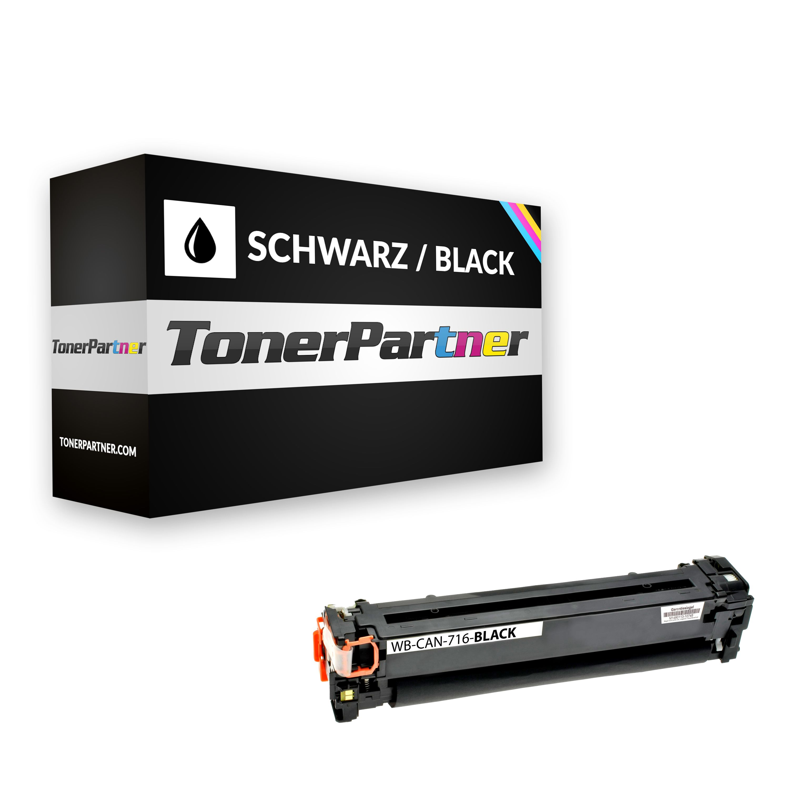 Compatible to Canon 1980B002 / 716BK Toner black